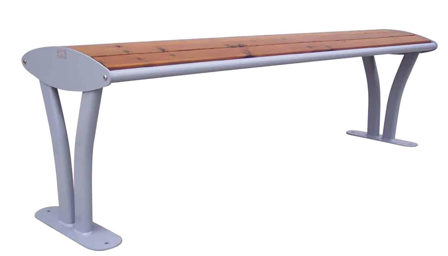 Bank Tauri Holz ohne Rückenlehne Produktbild