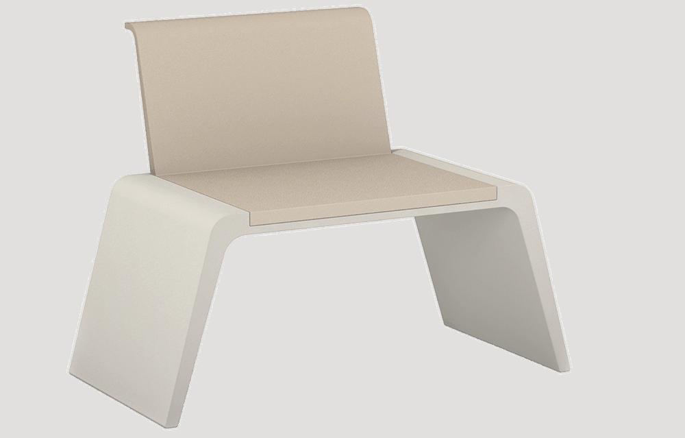 Stuhl Leather mit Rückenlehne Produktbild