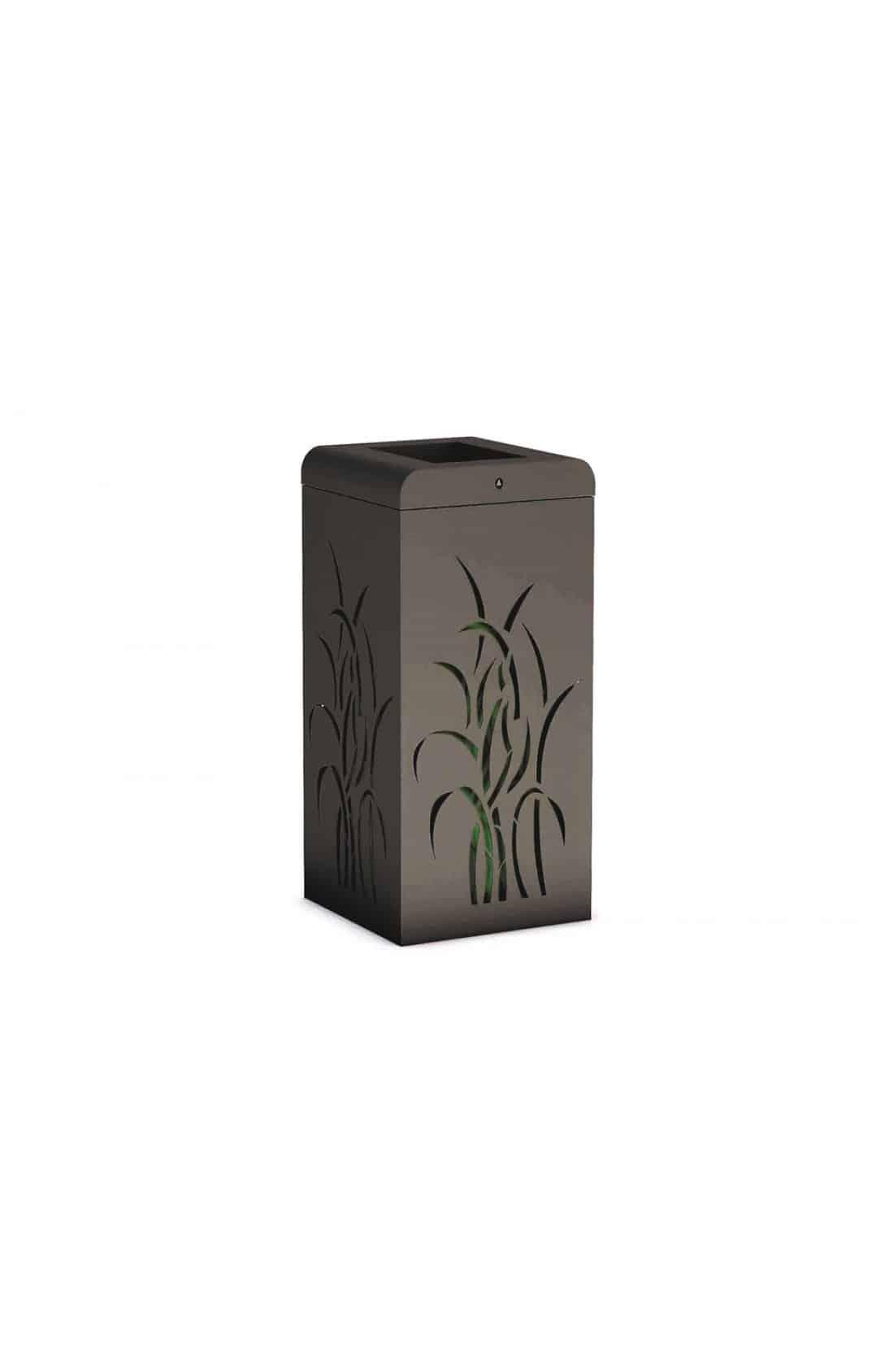 Mülleimer Grass
