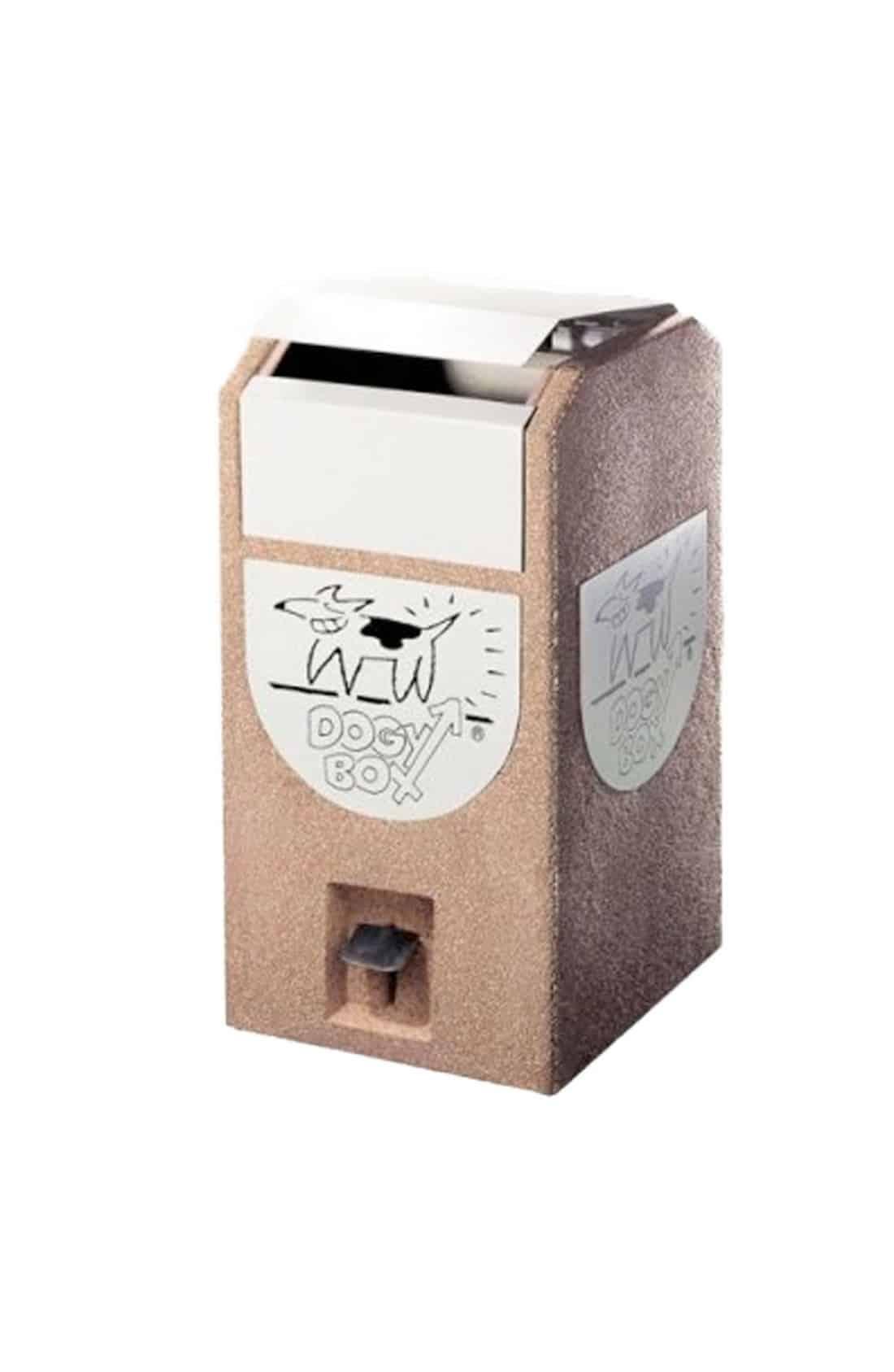 Dogy Box Concrete Behälter
