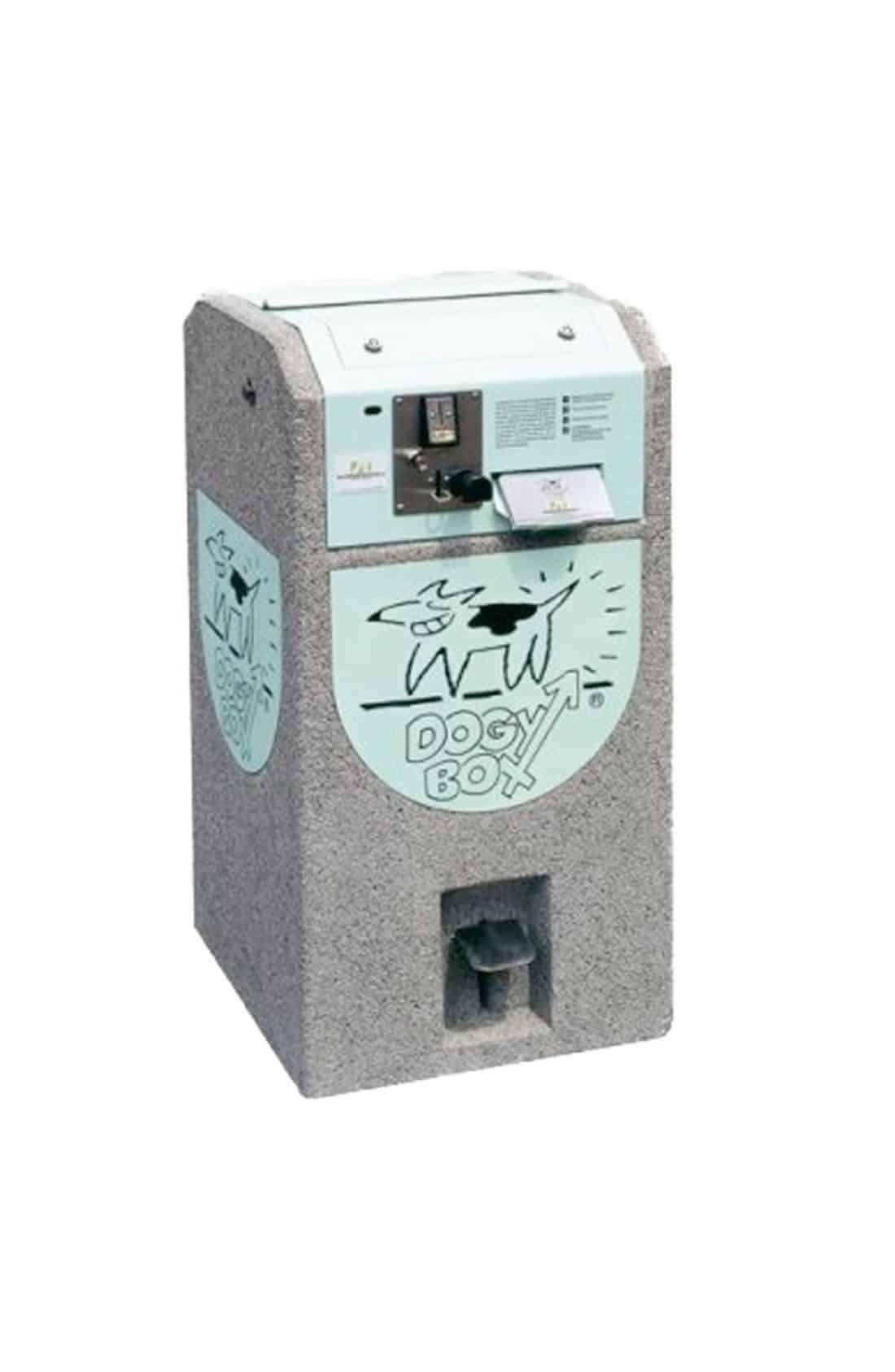 Dogy Box Concrete Dispenser und Behälter